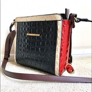 Brahmin Tri-color Purse